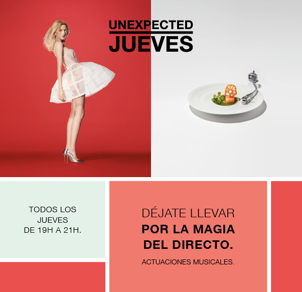 UNEXPECTED JUEVES